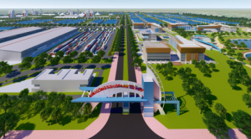 LONG AN PROVINCIAL PEOPLE'S COMMITTEE DECIDED ON ESTABLISHMENT OF NAM TAN TAP INDUSTRIAL PARK