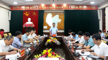THAI NGUYEN PEOPLE'S COMMITTEE CONSIDERS THE PROPOSAL OF THE IMPLEMENTATION OF SAIGONTEL'S INDUSTRY - URBAN - SERVICE COMPLEX PROJECT IN PHU BINH DISTRICT, THAI NGUYEN PROVINCE