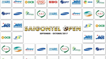 The first SAIGONTEL OPEN football tournament in 2017 officially closes