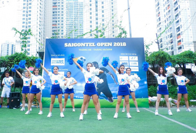 Opening Ceremony of the SAIGONTEL OPEN 2018 football tournament