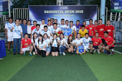 SAIGONTEL OPEN 2018 has left a good impression on the players and fans of the team