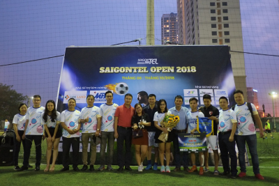 Closing the SAIGONTEL OPEN 2018 football tournament in the North